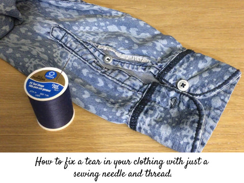 Vois DIY directions for sewing