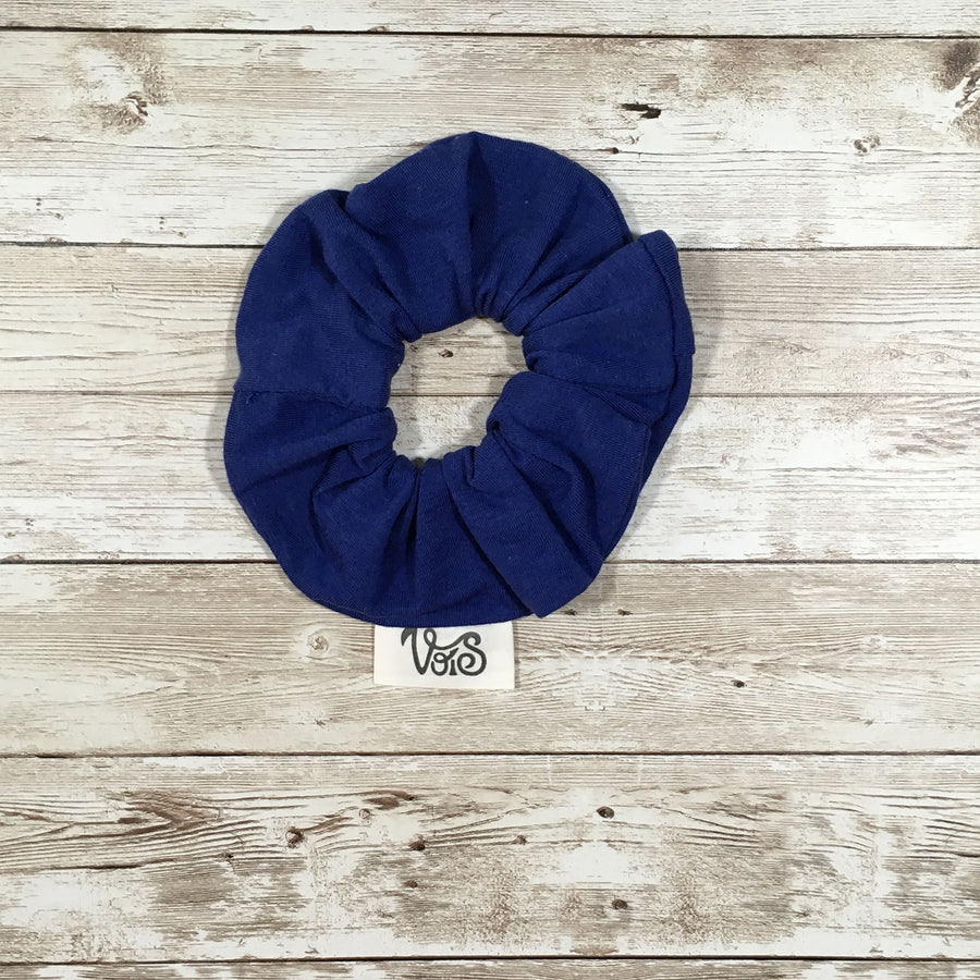 Zero-Waste Scrunchie in Ocean Blue