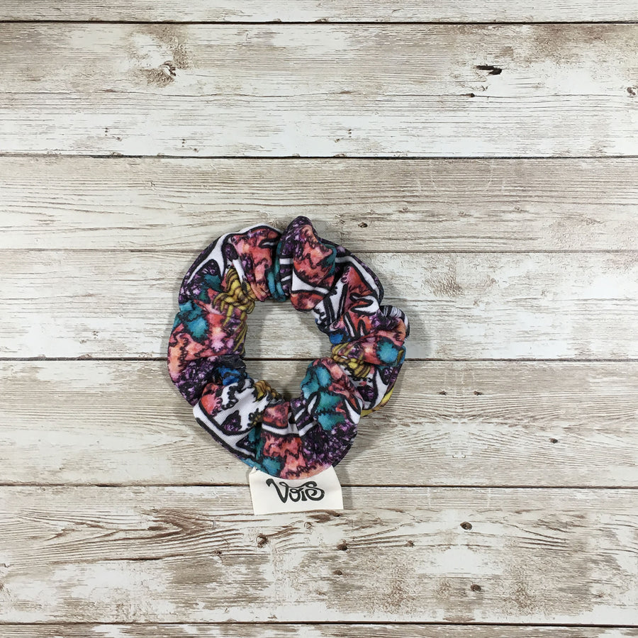 Medium Zero-Waste Scrunchie Trio - Set of 3