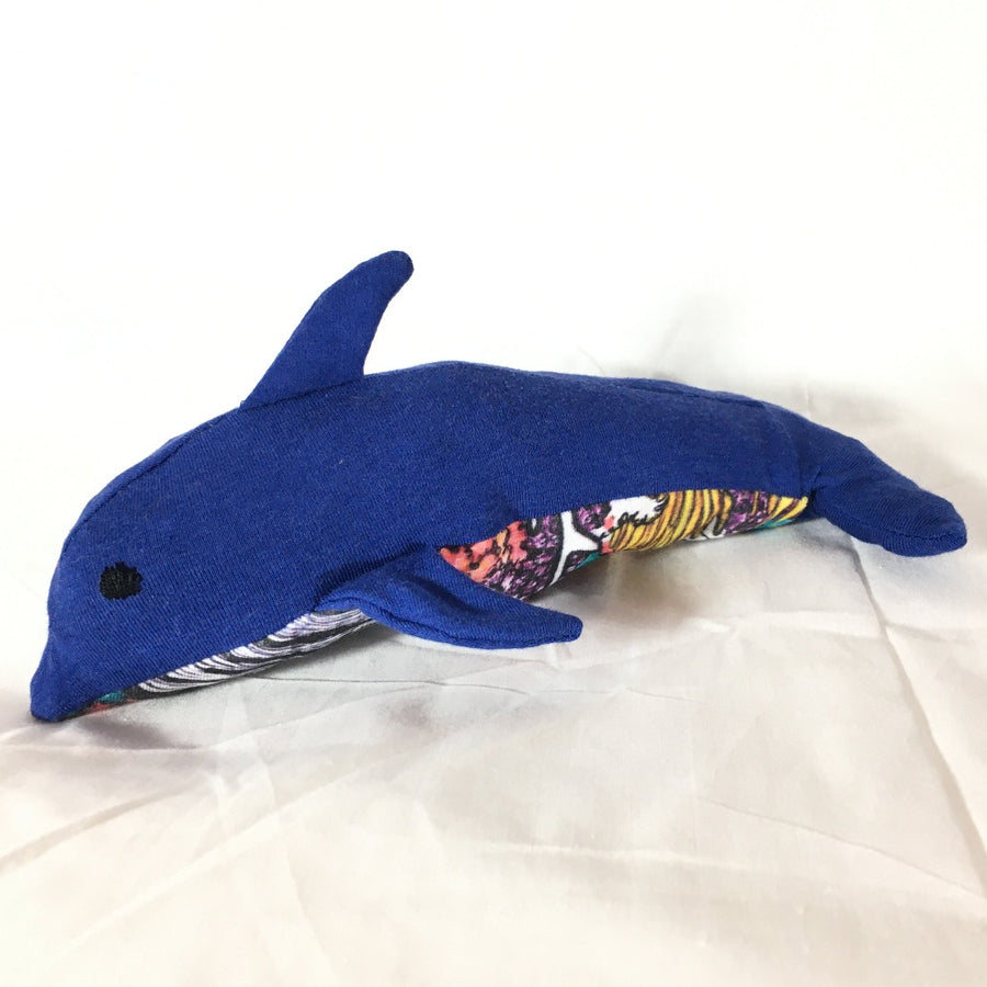 shopvois.com vois zero waste stuffed animal dolphin