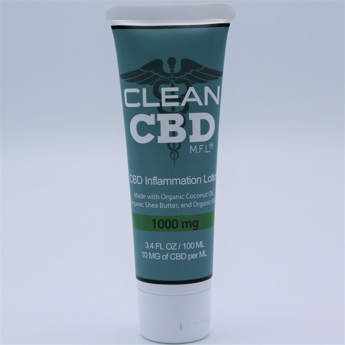 Clean CBD - Relief Lotion (500 - 1600 mg CBD, 60 - 100 ml)