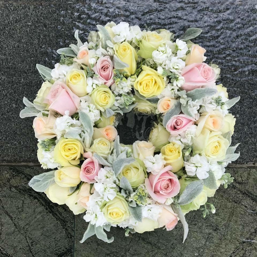 Westeria Wreath - Tomuri & Co. Floral Designs