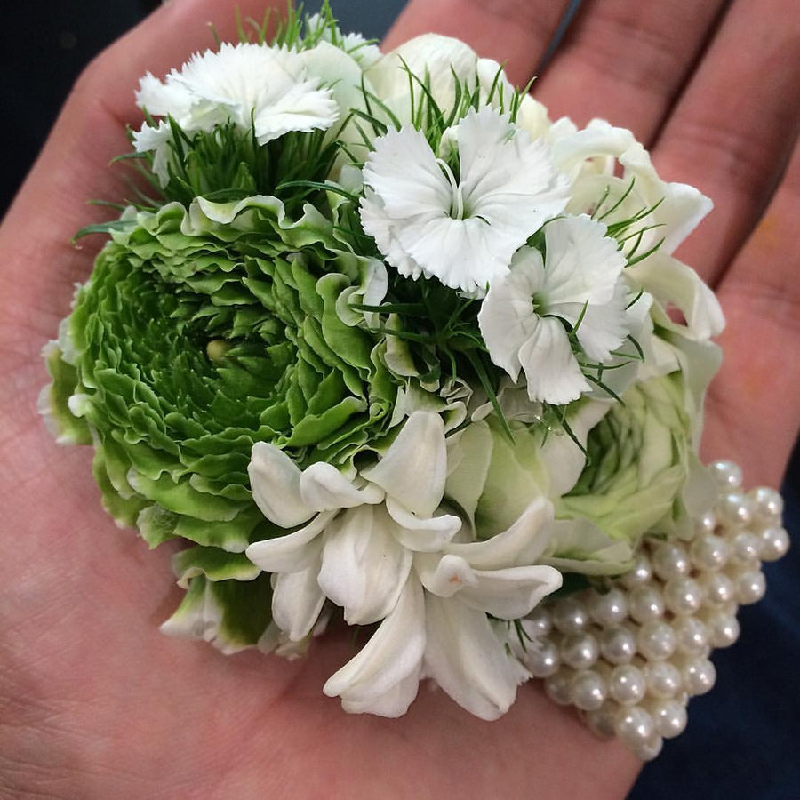 Wrist Corsage - Tomuri & Co. Floral Designs