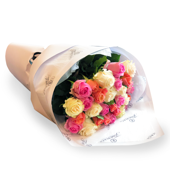Thirty NZ Roses - Tomuri & Co. Floral Designs