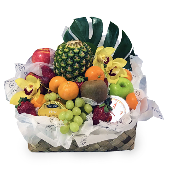 Fruit Gift Basket - Tomuri & Co. Floral Designs