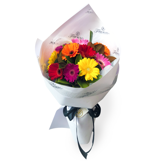 Vibrant Gerbera Bouquet - Tomuri & Co. Floral Designs