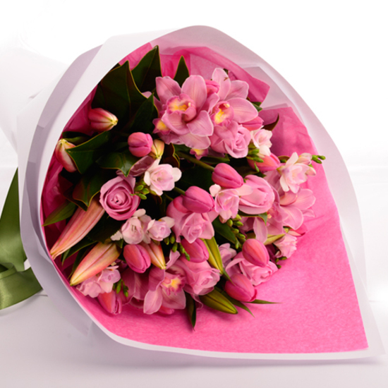 Pink Panther Bouquet - Tomuri & Co. Floral Designs
