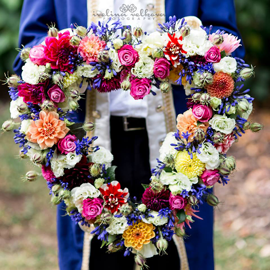 Heart Warming Tribute - Tomuri & Co. Floral Designs