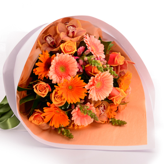 Sunset Bouquet - Tomuri & Co. Floral Designs