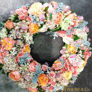 Domed Wreath - Tomuri & Co. Floral Designs