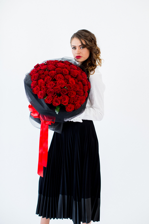99 Scarlet Red Roses - Tomuri & Co. Floral Designs