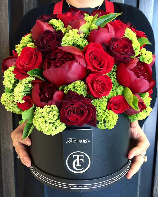 Red Charm Design - Tomuri & Co. Floral Designs