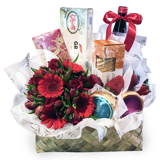 Noel Gift Basket - Tomuri & Co. Floral Designs