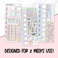 Hobonichi Weeks Printable Kit - Valentine's [Printable]