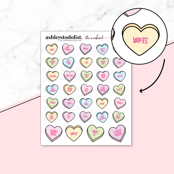 Conversation Hearts Tinies