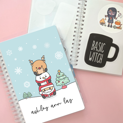 Vertical Weekly Planner Sticker Kit -  [Chubbymas]