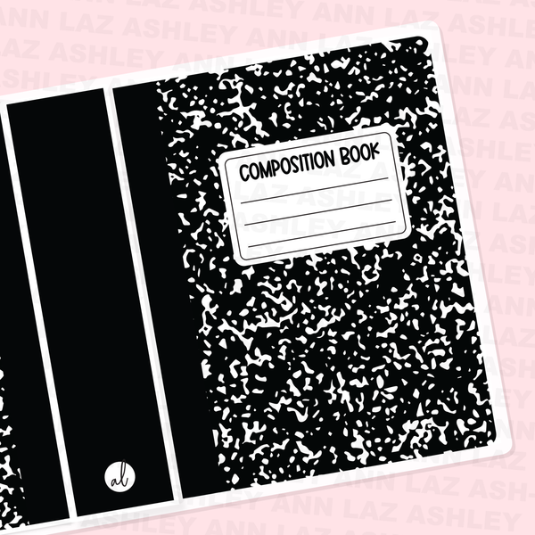 Doodle Sticker Albums - Composition Book