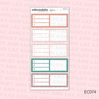 Daily Duo Planner Sticker Kit -  [Good Vibes]