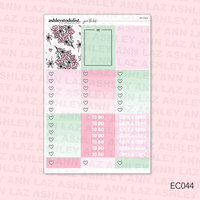 Vertical Weekly Planner Sticker Kit -  [You're The Best]
