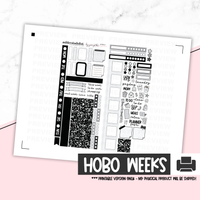 Hobonichi Weeks Printable Kit - Composition Book [Printable]
