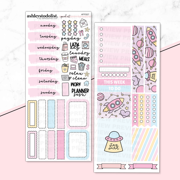 PP Weeks Weekly Kit - Spaced Out