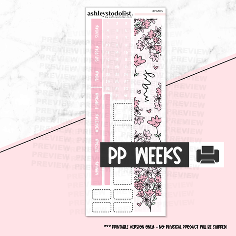 PP Weeks Monthly May 2020 - Printable