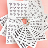 Masks Mini Functional Stickers
