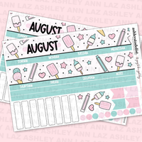 Monthly Sticker Kit August