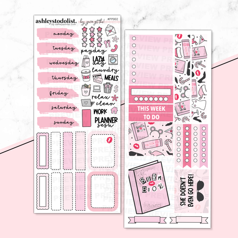 PP Weeks Weekly Kit - I'm A Cool Planner