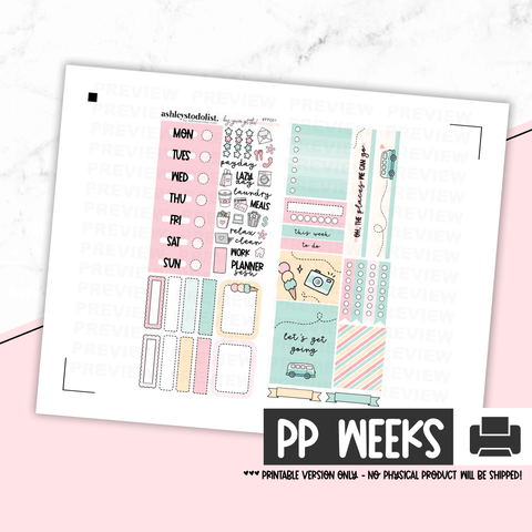 Print Pression Printable Kit - Let's Get Going