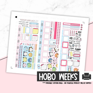 Hobonichi Weeks Kit - Chubbymons [Printable]