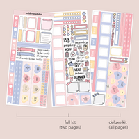 Hobonichi Weekly Kit - Candy Hearts