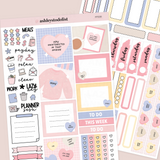 Mini Vertical Weekly Kit - Candy Hearts