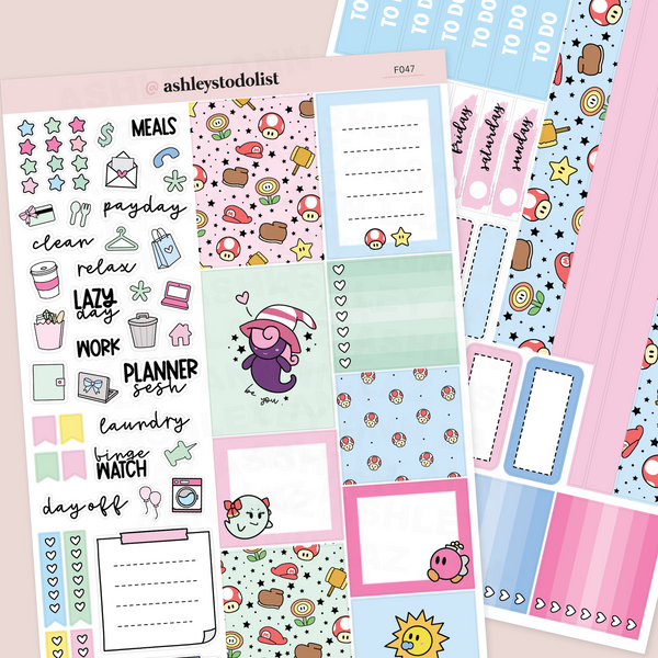 Hobonichi Cousin Weekly Planner Sticker Kit - Paper Heroes