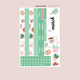 March Monthly Sticker Kit