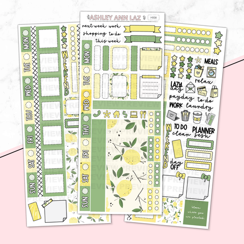 Hobonichi Weekly Kit - Summer Lemon