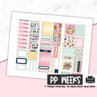 Print Pression Weeks Printable Kit - New Horizons [Printable]