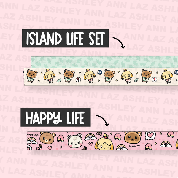 Pre-Order Animal Crossing Washi - #PO5