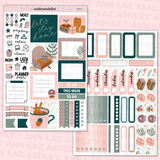 Mini Vertical Weekly Kit - Cocoa & Chill