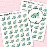 Animal Crossing Leaf Icons Tinies