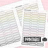 Dotted Rounded Boxes - Pastels