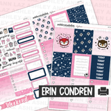 Vertical Weekly Planner Sticker Kit -  [Daydreamer]