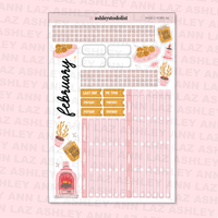 February Monthly Sticker Kit