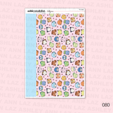 Daily Duo Planner Sticker Kit -  Chubbymons