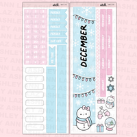 December Monthly Sticker Kit