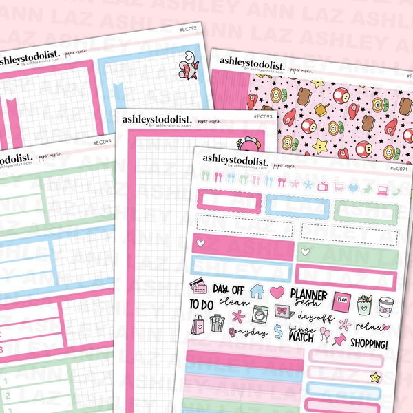 Daily Duo Planner Sticker Kit -  Paper Heroes
