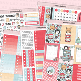 Vertical Weekly Planner Sticker Kit - Chubbymas