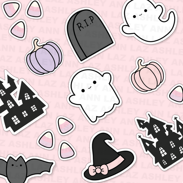 So Spooky - Kawaii Halloween Die Cuts
