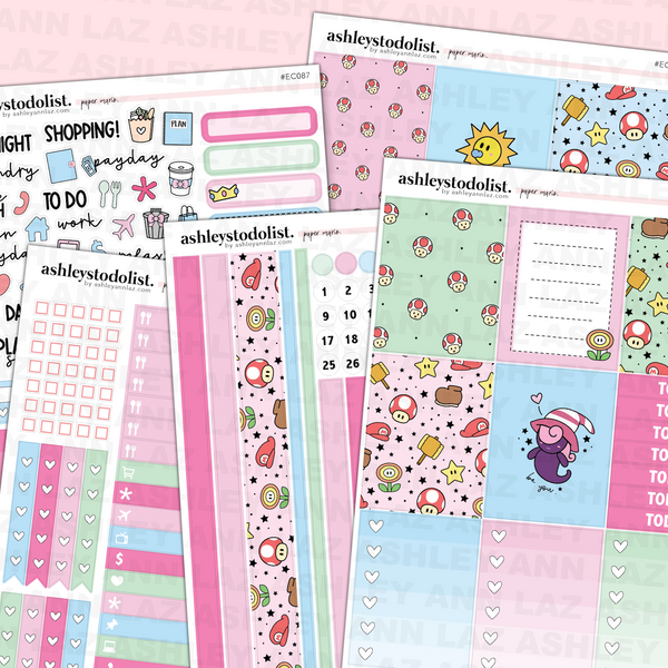 Vertical Weekly Planner Sticker Kit -  Paper Heroes