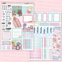 Mini Vertical Weekly Kit - Honeydukes